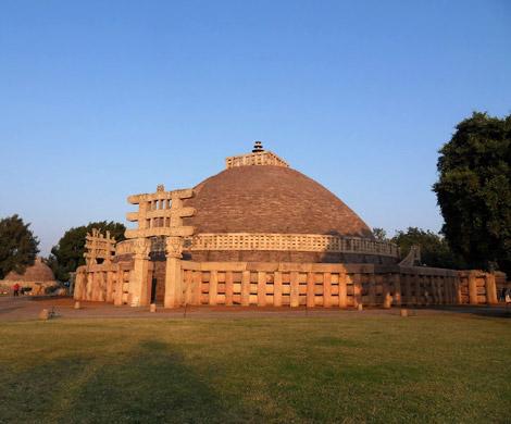 В архитектуре древней индии можно
