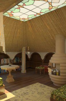 Дизайн потолков мансарды фото - Дизайн.