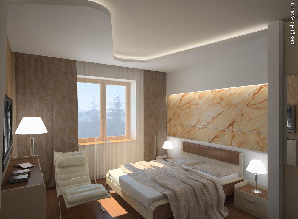 Дизайн гостиная спальня фото.