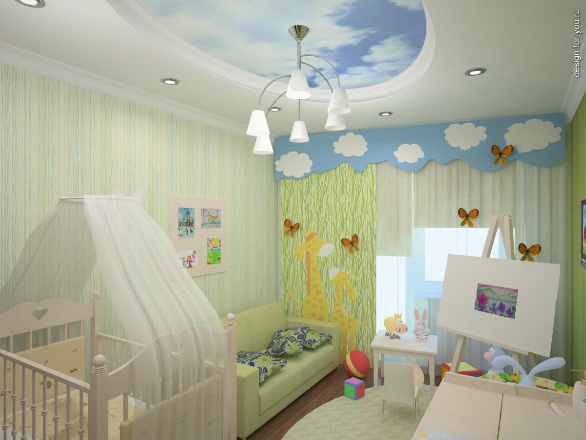 Детская комната небольшая фото