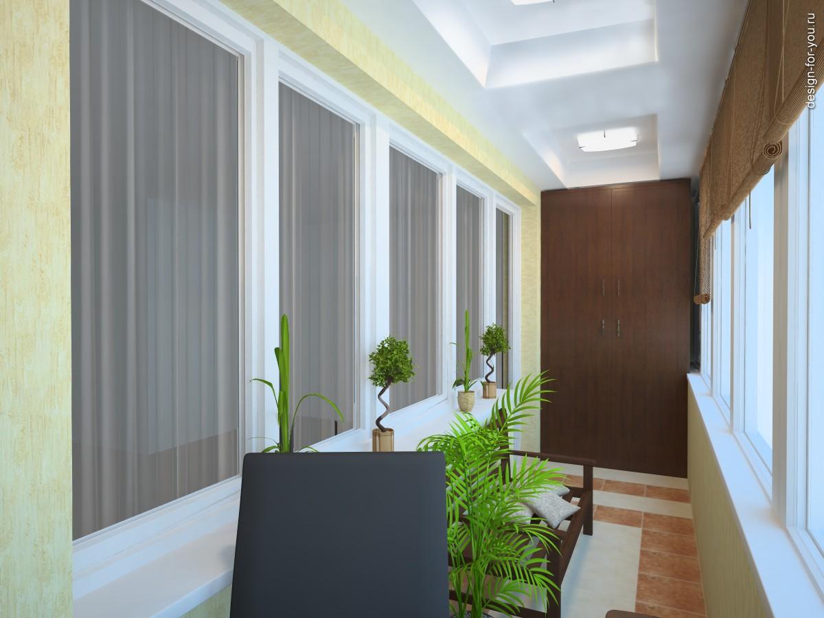Дизайн лоджий и балкона фото