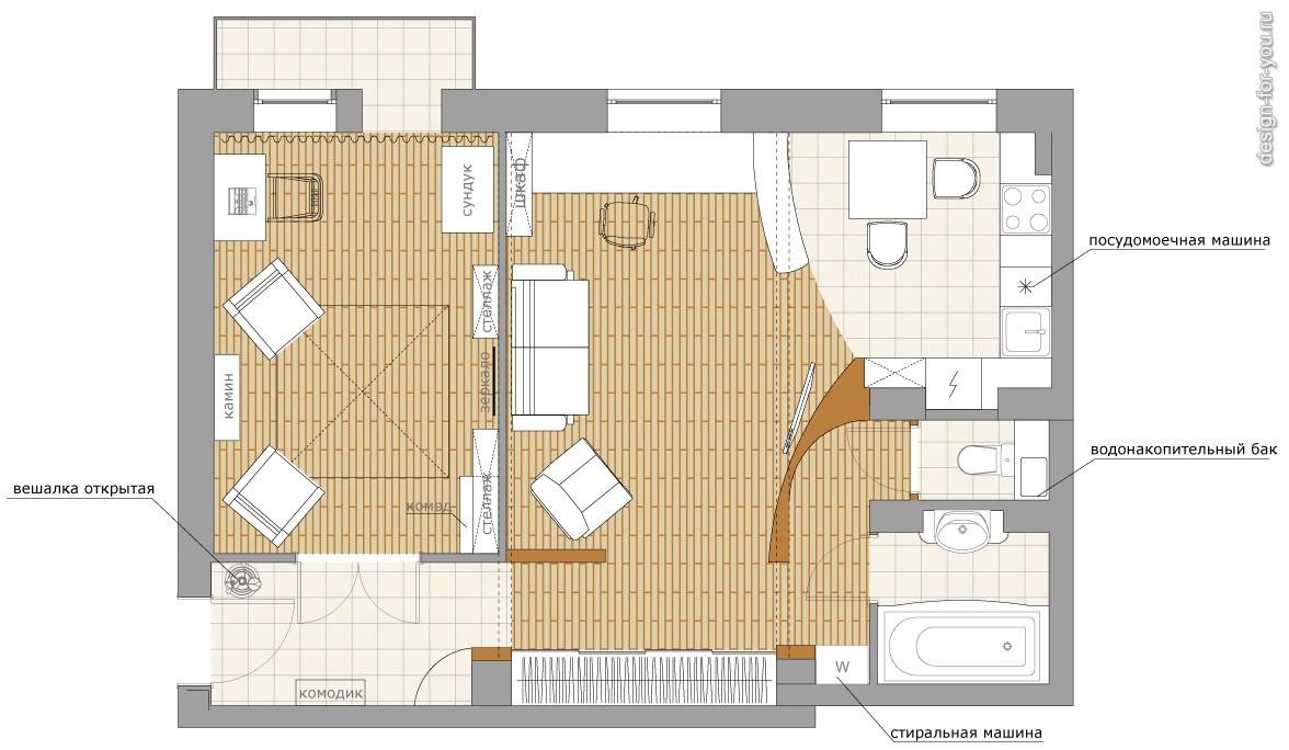 Перепланировка квартир - gilkodru